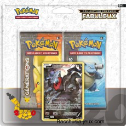 Duopack Generation Darkrai Collection Pokémon fabuleux 20 ans