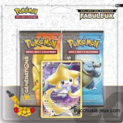 Duopack Generation Jirachi Collection Pokémon fabuleux 20 ans