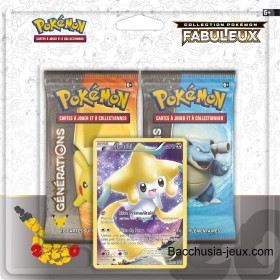 Duopack Generation Jirachi Collection Pokémon fabuleux 20 ans