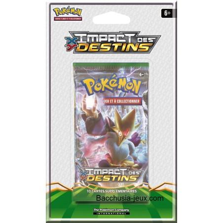 Pokémon 1 Booster sous blister XY10 Impact des Destins