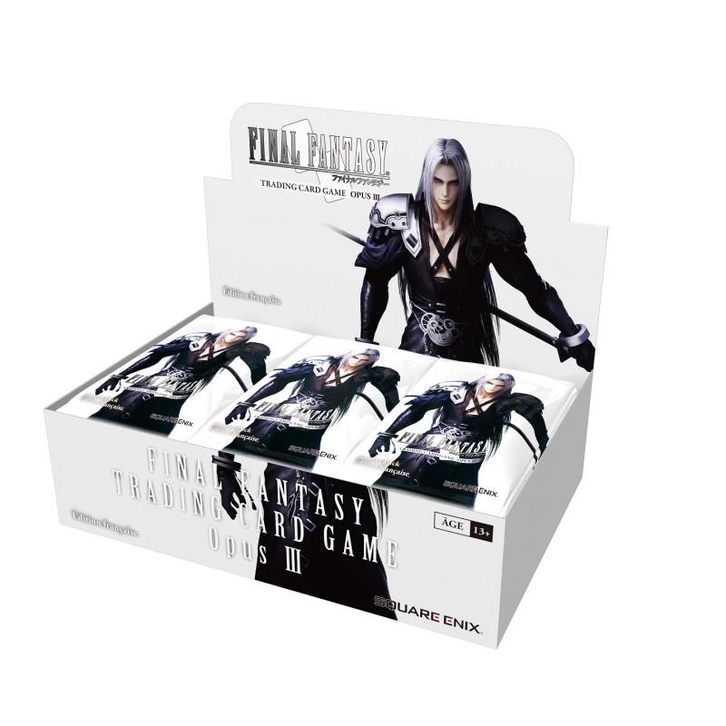 Final Fantasy TCG Display de 36 Boosters Opus 3