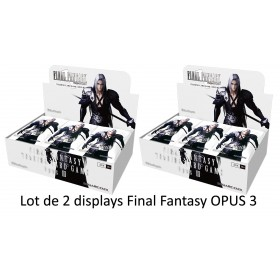 Final Fantasy TCG - 2 Displays de 36 Boosters Opus 3