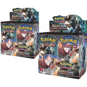 Pokemon 2 displays SL3 Ombres Ardentes