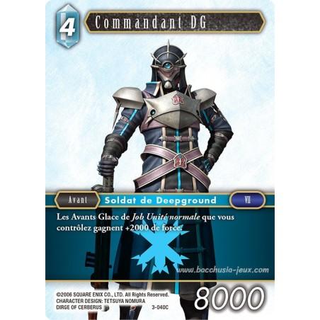 Commandant DG 3-040C