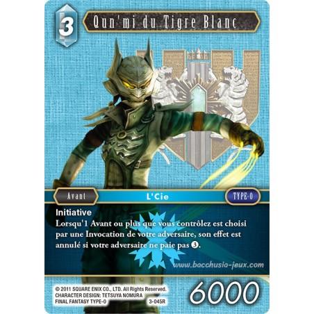 Qun'mi du Tigre Blanc 3-045R