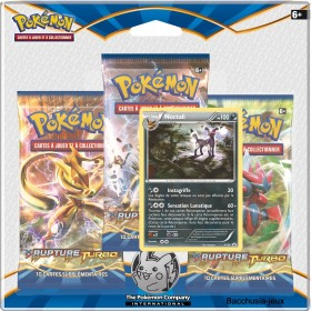 Pokemon Tripack Noctali XY9 Rupture Turbo