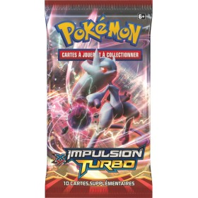 Pokémon 1 Booster XY8 Impulsion Turbo