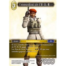 Commandant de l'O. R. M. 3-086C