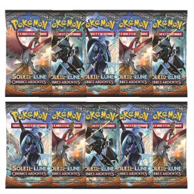 Pokemon Lot de 10 boosters SL3 Ombres Ardentes