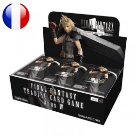 Final Fantasy TCG Display de 36 Boosters Opus 4