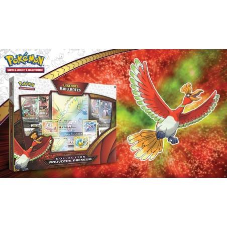 Pokemon Coffret Légendes Brillantes SL3.5 Ho Oh GX - Collection Pouvoirs Premium
