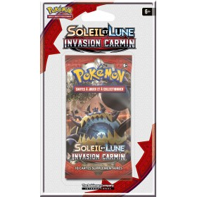 Pokemon Booster sous blister SL4 Invasion Carmin