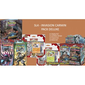 Pokemon Pack Deluxe SL4 Invasion Carmin