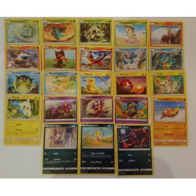 Pokemon Lot complet des 23 cartes Communes SL3.5 Légendes Brillantes