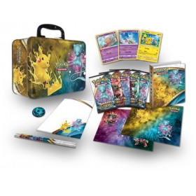 Pokemon Coffret Valise en metal Pikachu & Mew - Légendes Brillantes - SL3.5 - FR