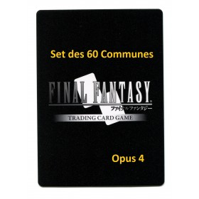 Final Fantasy Opus IV Set des 60 communes
