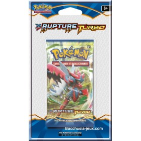 Pokémon 1 Booster sous blister XY9 Rupture Turbo