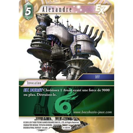 Alexandre 4-051H