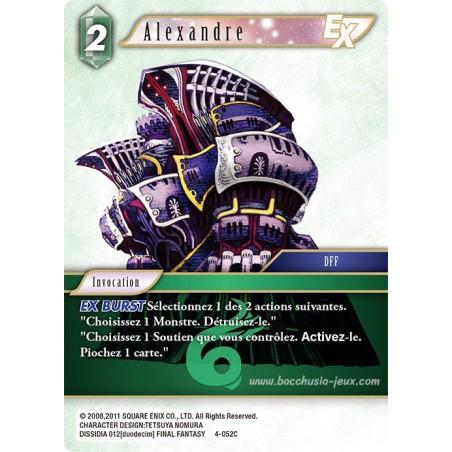 Alexandre 4-052C