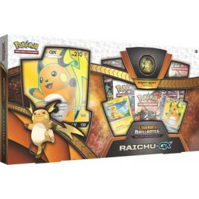Coffret Pokemon Raichu GX Légendes Brillantes SL3.5 - Collection Spéciale
