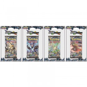 Pokemon Lot de 4 boosters sous blister SL5 Ultra Prisme