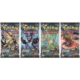 Pokemon Lot de 4 boosters SL5 Ultra Prisme