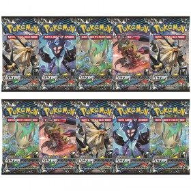 Pokemon Lot de 10 boosters SL5 Ultra Prisme