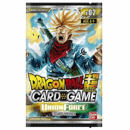 Dragon Ball Super - 1 Booster FR - Serie 2 - Union Force