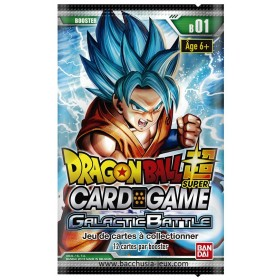 Dragon Ball Super - 1 Booster FR - Serie 1 - Galactic Battle
