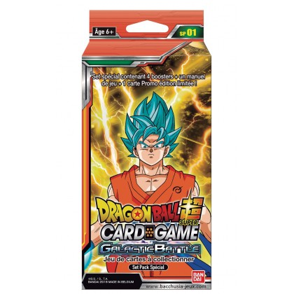 Dragon Ball Super - Pack Edition Spéciale - Serie 1 - Galactic Battle