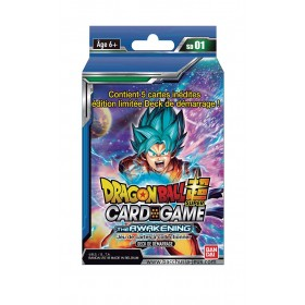 Dragon Ball Super - Deck Préconstruit - Serie 1 Goku SSJ Blue - The Awakening