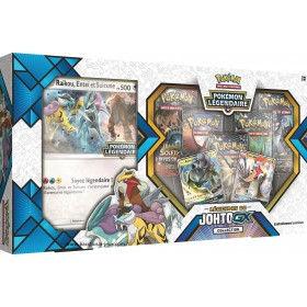 Coffret Pokemon - Entei Raikou Legendes de Johto GX Collection