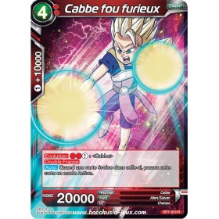 Cabbe fou furieux BT1-013 R