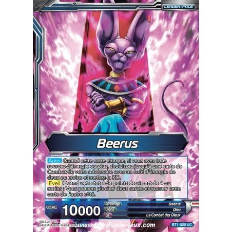 Beerus // Beerus, Dieu de la destruction BT1-029 UC