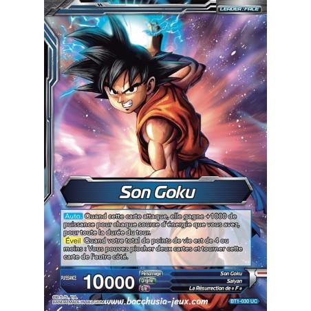 Son Goku // Son Goku Super Saiyan Bleu BT1-030 UC