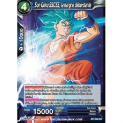 Son Goku SSGSS, la hargne debordante BT1-032 UC