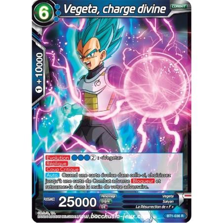 Vegeta, charge divine BT1-036 R