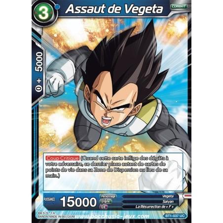 Assaut de Vegeta BT1-037 UC