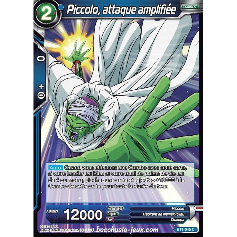 Piccolo, attaque amplifiee BT1-045 C