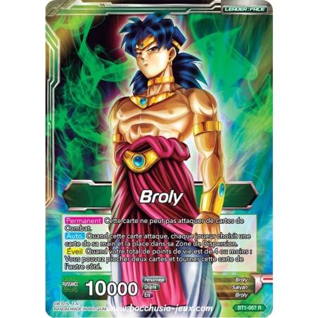 Broly // Broly, Super Saiyan Legendaire BT1-057 R