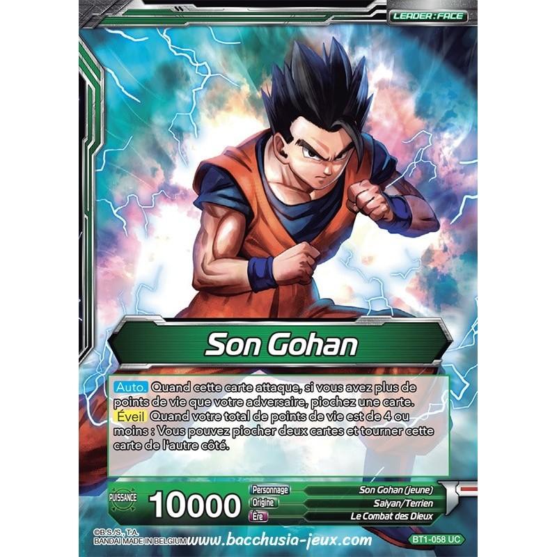 Son Gohan // Son Gohan puissance maximum BT1-058 UC