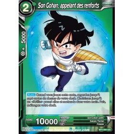 Son Gohan, appelant des renforts BT1-061 UC