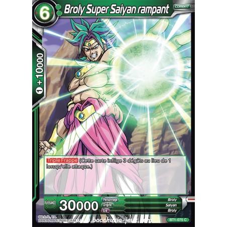 Broly Super Saiyan rampant BT1-075 C