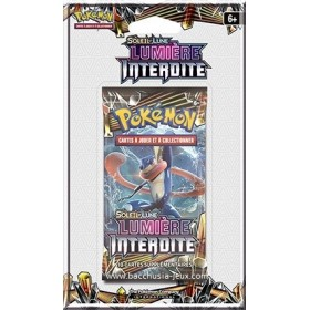 Pokemon Booster sous blister SL6 Lumiere Interdite