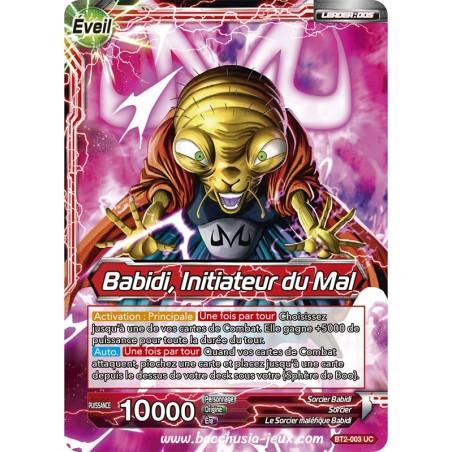 Babidi, Initiateur du Mal BT2-003 UC