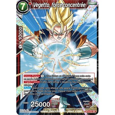 Vegetto, force concentree BT2-012 SR