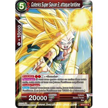 Gotenks Super Saiyan 3, attaque fanteme BT2-014 R