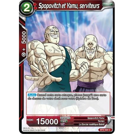 Spopovitch et Yamu, serviteurs BT2-024 C