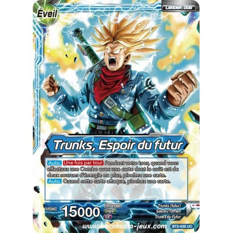 Trunks, Espoir du futur BT2-035 UC