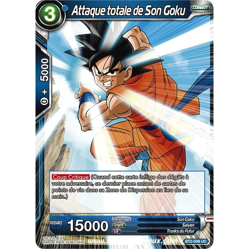 Attaque totale de Son Goku BT2-038 UC